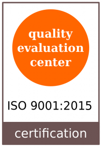 quality evaluation center services_ISO9001_2015 Qualidade