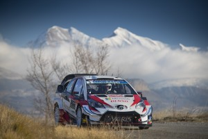 FIA World Rally Championship 2019 / Round 01 / Monte Carlo Rally / January 24-27, 2019 // Worldwide Copyright: Toyota Gazoo Racing WRC
